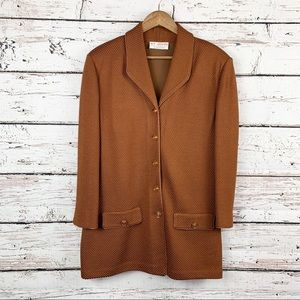 ST. JOHN COLLECTION By Marie Grey Oversize Jacket